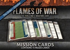 FW007-M Flames Of War Mission Cards