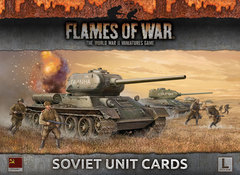 FW130S: Armies of Late War - Soviet Unit Cards [OOP]