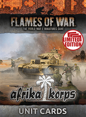 FW242U: Afrika Korps Unit Cards (mid-war)