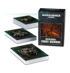 Datacards: Chaos Daemons (8th)