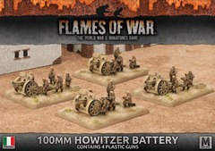 IBX12: 100mm Howitzer Battery (Plastic)