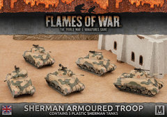 BBX42: Sherman Armoured Troop (Plastic)