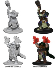 Nolzur's Marvelous Miniatures - Dwarf Cleric (Male)