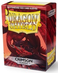 Dragon Shield: Standard - Crimson, 100-count box