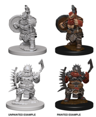 Pathfinder Deep Cuts - Dwarf Barbarian (Male)