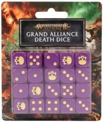 Age Of Sigmar: Grand Alliance Death - Dice Set