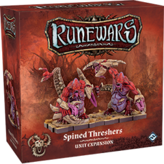 Runewars Miniatures Game: Uthuk - Spined Threshers Unit
