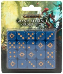 Age Of Sigmar: Grand Alliance Order - Dice Set