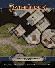 Pathfinder (2nd Edition) Flip Mat - The Fall of Plaguestone