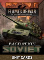 FW266U: Bagration - Soviet Unit Cards