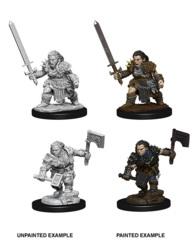 Pathfinder Deep Cuts - Dwarf Barbarian (Female)