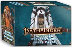 Pathfinder RPG (2nd Edition) Spell Cards: Advanced Player's Guide