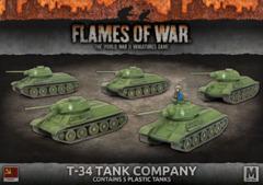 SBX54: T-34 Tank Company