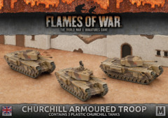 BBX44: Churchill Armoured Troop (Plastic)