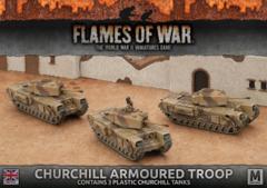 BBX44: Churchill Armoured Troop (Plastic)