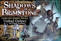 Shadows of Brimstone: Deluxe Enemy Pack - Undead Outlaws
