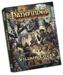 Pathfinder Roleplaying Game: Villain Codex (pocket edition)