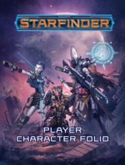 Starfinder RPG: Player Character Folio