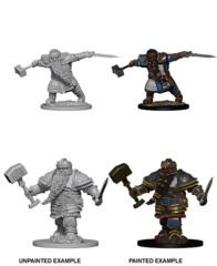 Nolzur's Marvelous Miniatures - Dwarf Fighter (Male)