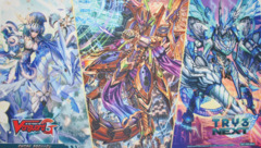 Cardfight!! Vanguard G: Character Booster 01 Try 3 Next - Sneak Preview Playmat