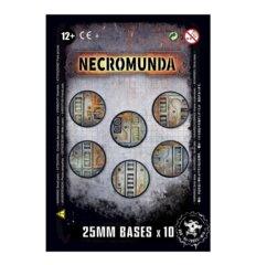 Necromunda: Bases - 25mm