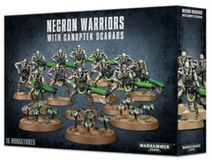 Necrons - Warriors With Canoptek Scarabs