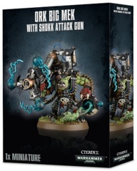 Ork - Big Mek with Shokk Attack Gun