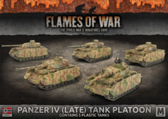 GBX121: Panzer IV (Late) Tank Platoon