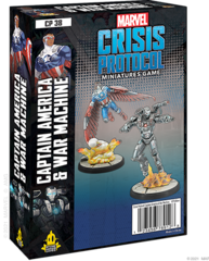 Marvel: Crisis Protocol Character Pack - Captain America & Warmachine
