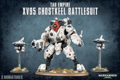 T'au Empire - XV95 Ghostkeel Battlesuit