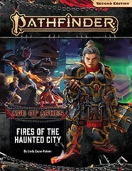 Pathfinder (2nd Edition) Adventure Path #148: Fires of the Haunted City (Age of Ashes 4 of 6)