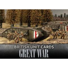 GBR901: British Great War Unit Cards