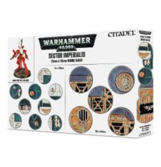 Sector Imperialis: 25 & 40mm Round Bases 66-92