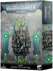 Necrons - Szarekh, the Silent King