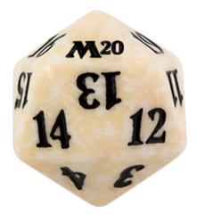 Magic Spindown Die - Core Set 2020 - White