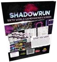 Shadowrun RPG: Sixth World - Gamemaster Screen