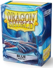 Dragon Shield: Standard - Matte Blue, 100-count box