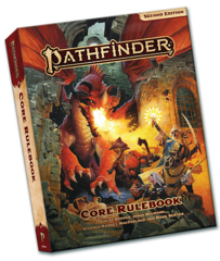Pathfinder RPG (2nd Edition) Core Rulebook (pocket edition)