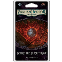 Arkham Horror: The Card Game Mythos Pack - Before the Black Throne