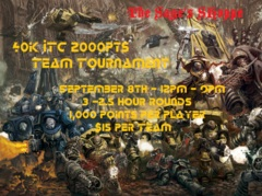 40k ITC Team Tournament - 2000pts
