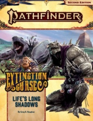 Pathfinder (2nd Edition) Adventure Path #153: Life's Long Shadows (Extinction Curse 3 of 6)
