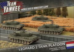 TDBX01: Leopard 2 Tank Platoon (Plastic)