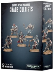 Easy to Build: Chaos Space Marines - Chaos Cultists