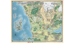 Gale Force 9 Game Mat: Faerun Map (27