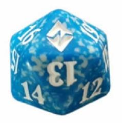 Magic Spindown Die - Battle for Zendikar - Blue