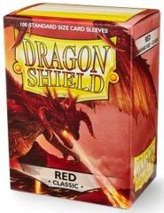 Dragon Shield 10007: Standard - Classic Red, 100ct box