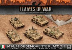 IBX14: M14/41 or Semovente Platoon (Plastic)