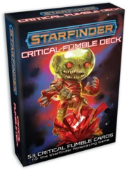 Starfinder Cards: Critical Fumble Deck