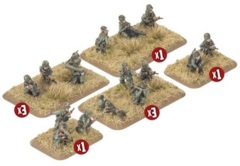 TCA702: Mechanised Platoon (x32 figures)