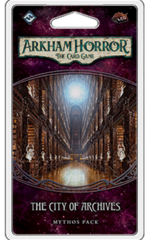 Arkham Horror: The Card Game Mythos Pack - The City of Archives